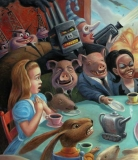 'The Mad Tea Party', detail