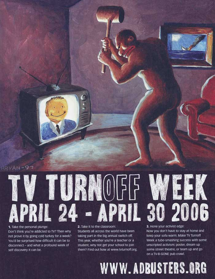 tv turn off week essay Welcome we are marilyn lazala, a realty service company dedicated to sales, rentals and management in casa de campo we offer lots, villas, apartments and country.