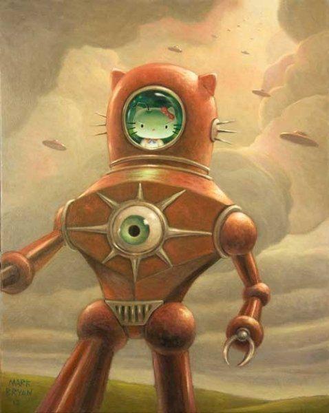 Flying Saucers Art Of Mark Bryan